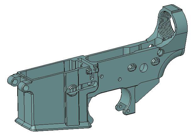 AR-15 Lower Receiver